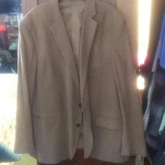Men's Stafford corduroy tan jacket